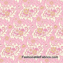 Fabric... Freshcut Finery in Pinky Purple by Heather Bailey