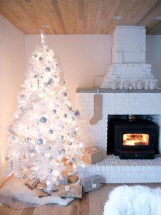 #White #Christmas #Holiday #Home #Decor #Decorations