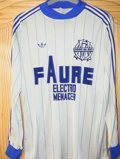Olympique de Marseille. Home 1981 - 1982. #adidas #om #vintage