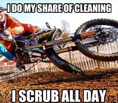 We give you the best service and prices on motorcycle helmets, jackets, gear, parts and accessories. Dirtbike Memes, Motocross Quotes, Dirt Bike Quotes, Motorcycle Memes, Motocross Funny, Dirt Bike Gear, Motorcycle Dirt Bike, Dirt Biking, Bike Humor