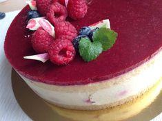 Vanilkový dort s malinami - Víkendové pečení Panna Cotta, Cheesecake, Food And Drink, Pudding, Ethnic Recipes, Cupcakes, Pizza, Blog, Deserts
