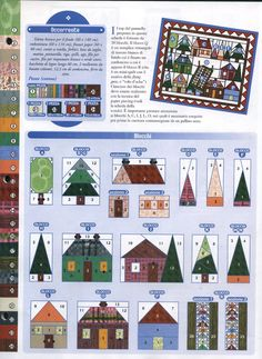 House Quilt Patterns, House Quilt Block, Paper Piecing Patterns, Quilt Block Patterns, Quilt Blocks, Doily Patterns, Dress Patterns, Small Quilts, Mini Quilts