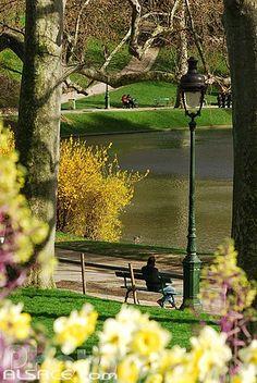 Parc des buttes Chaumont, Paris XIX