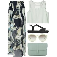 """""""I'm like a bird, I'll only fly away..."""" by rosiee22 on Polyvore"""