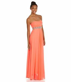 Sequin Hearts Strapless Sweetheart from Dillards Homecoming 2013 Collection