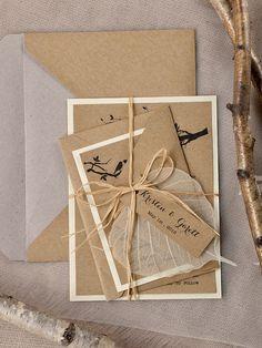 WEDDING INVITATIONS rustic 03/rus1/z