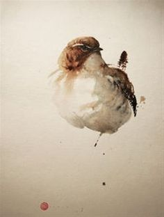 Wren #3 - Karl Mårtens - watercolor