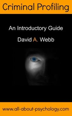 Designed to let you dive straight into this fascinating topic, Criminal Profiling: An Introductory Guide provides clear and concise information on central issues such as the origins of criminal profiling and FBI profiling methodology and limitations. See following link for full details. http://www.amazon.com/dp/B008O64S5U  #ForensicPsychology #FBIProfiler #CriminalProfiling