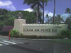 Enjoyed a short temporary duty at Hickam Air Force Base on the island of Oahu, Hawaii. Air Force Bases, Us Air Force, Places To See, Places Ive Been, Military Life, Military Families, Vintage Hawaii, Pearl Harbor, Hawaiian Islands