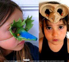 mascaras con hueveras de cartón Winter Crafts For Kids, Art For Kids, Lessons For Kids, Art Lessons, Mascara Papel Mache, Dibujos Zentangle Art, Carnival Crafts, Alien Crafts, Arts And Crafts