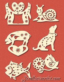 Scroll Saw Patterns :: Holidays :: Christmas - Scroll Saw Patterns, Wood Projects, Jewerly, Christmas, Cricut, Holidays, Wood Art, Jewels, Furniture