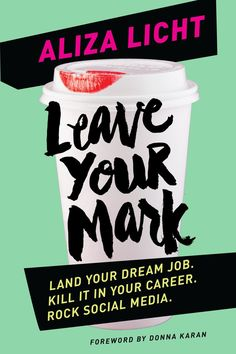 Pre Order the new book, Leave Your Mark by social media phenom, @DKNY today!