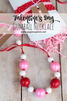 DIY Valentine Gumbal