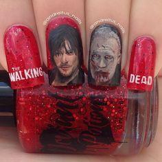 walking dead by andreitus_nails  #nail #nails #nailart