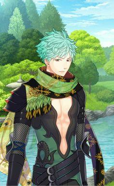 Ayu got handsome in season 2 Shall we date Destiny ninja 2 Otome game Anime boy