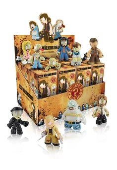 These Walking Dead Blind Box Mystery Minis are adorable and collectible. They are vinyl minis of Walking Dead characters, but they are more cute than scary. The Walking Dead Series 1, Walking Dead Figures, The Walking Dead Store, The Walking Dead Merchandise, The Walking Dead Tv, Merle Dixon, Daryl Dixon, Vinyl Figures, Action Figures