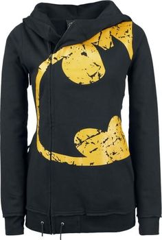 Women's Batman hoodie with side zipper!