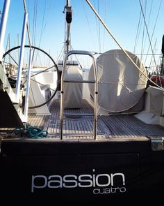 Hanse 470 E Passion Cuatro ready for blue water sailing. Full details link in our bio! #sail #sailing #sailboat #sailingstagram #sailingboat #yacht #yachting #yachtlife #yachtlifestyle #cruiser #cruising #racer #racing #passion #cuatro #hanse #judelvrolijk #2008 by cruiser_racer