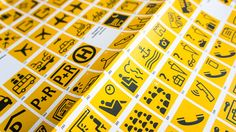 FF Transit Pictograms – Specimen Poster on Behance