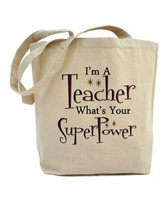 'What's Your Superpower' Tote