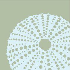 Risultati immagini per sea urchin graphic Lino Art, Sea Urchin Shell, Nautical Art, Beach Design, China Painting, Linocut Prints, Geometric Shapes, Printmaking, Glass Art