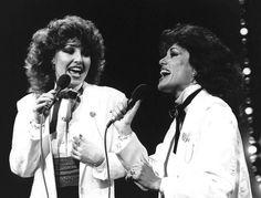 Patricia Paay en haar zusje Yvonne Keeley