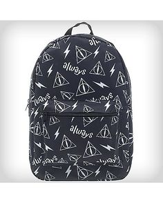 Deathly Hallows Harry Potter Backpack - Spencer's