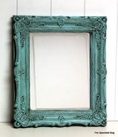 DIY glazing: I would like to do some frames and mirrors like this!