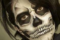 [  http://www.pinterest.com/toddrsmith/boo-who-adult-halloween-ideas/  ]  -Skull makeup