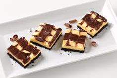 Black and White Pudding Squares!