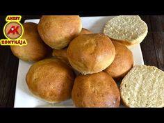 Vizes zsemle recept egyszerűen / Anzsy konyhája - YouTube Baked Goods, Bakery, Make It Yourself, Cooking, Youtube, Brot, Diy Home Crafts, Kitchen, Youtubers