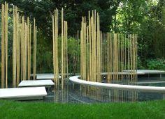 Silver Moonlight Garden by Haruko Seki, Chelsea Flower Show 2008