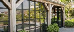 Orangeries & Veranda's | Livinlodge eiken bijgebouwen