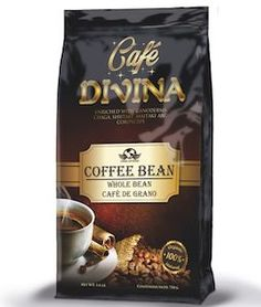 Cafe Divina - Whole Bean Coffee Wonderful aroma and Depth flavor, Cafe Divina – Whole bean offers a sharp and distinguishing flavor. Dark roasted and gently infused with Gano, Chaga, and Cordyceps. Healthy Menu, Healthy Foods To Eat, Healthy Recipes, Eating Healthy, Clean Eating, Coffee Nutrition, Health And Nutrition, Coffee Cafe, Coffee Drinks