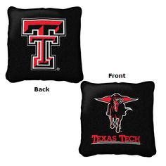 Texas Tech Red Raiders Pillow