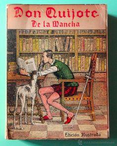 don quijote de la mancha. edición ilustrada. ed - Comprar Libros clásicos en todocoleccion - 50701058