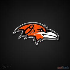 Baltimore Orioles and Ravens | Baltimore Ravens Logo