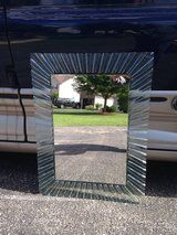 Glass Framed Mirror in Naperville, Illinois