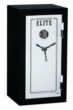 Stack-On E-040-SB-E Elite Junior Executive Fire Safe with Electronic Lock, 3 shelves Review - http://www.gunsafereviewssite.com/electronic-digital-gun-safes/stack-on-e-040-sb-e-elite-junior-executive-fire-safe-with-electronic-lock-3-shelves-review/