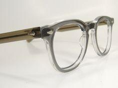Vintage Tart Optical Mens Eyeglasses Frames OTE 1950s -60s 48-22. $75.00, via Etsy.
