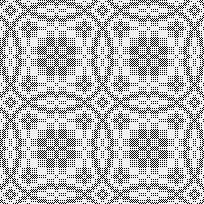 Drawdown Image: rose in circle, my own pattern, 4S, 4T
