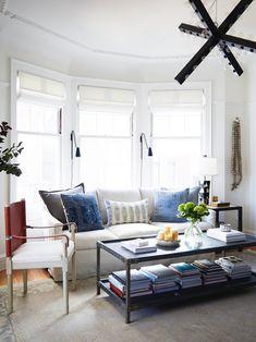 Crystal Palecek Home Tour, Crystal Palecek Design, Living Room Inspiration