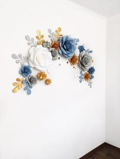 Wedding Arch Paper Flower Backdrop Wall At Reception Code 119