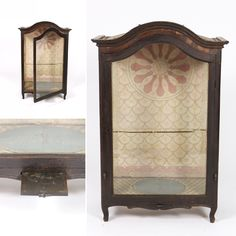 Large carved oak and glass reliquary, English circa 1800, original glazings on front and sides, original paper on back and interior bottom #vitrine #vitrines #18thcentury #reliquary #displaycase #religiousartifacts #styleblog #sf #sanFrancisco #interiordesignideas #antiqueshop #antiques #interiordecorating #instainteriordesign #designinspiration #homedecor #interiordecorating #interiorstyle #interior_and_living #interiordesigner #bespokeinteriors
