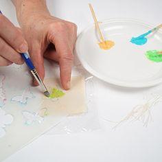 Textil decoupage és textilfestés - Art-Export webáruház