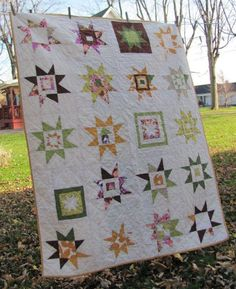 Bailey Girl Five: Happiness is .... a star quilt