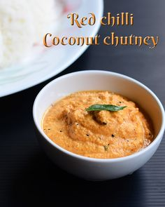 Red coconut chutney recipe   Red chilli coconut chutney   Rak's Kitchen