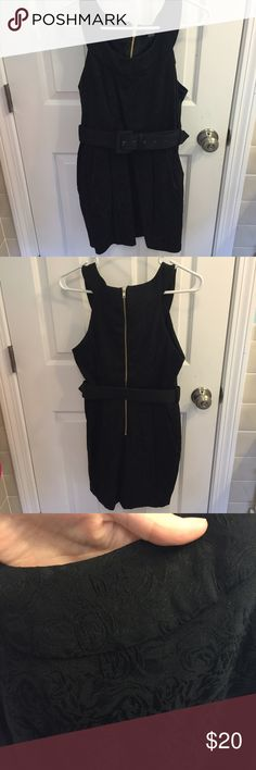 Forever 21 dress black flower print forever 21 dress. Worn once. great for an event or a night out! Forever 21 Dresses