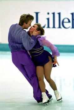 Favorite color, favorite sport, favorite ice dancers, favorite skating moment to date!! Torvill & Dean and the breathtaking Bolero