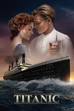 Titanic Movie Poster Titanic Filme Cartazes De Filmes Classicos Cartazes De Filmes Antigos